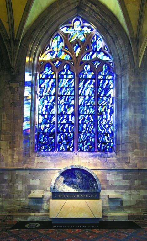 SAS Memorial Hereford Cathedral